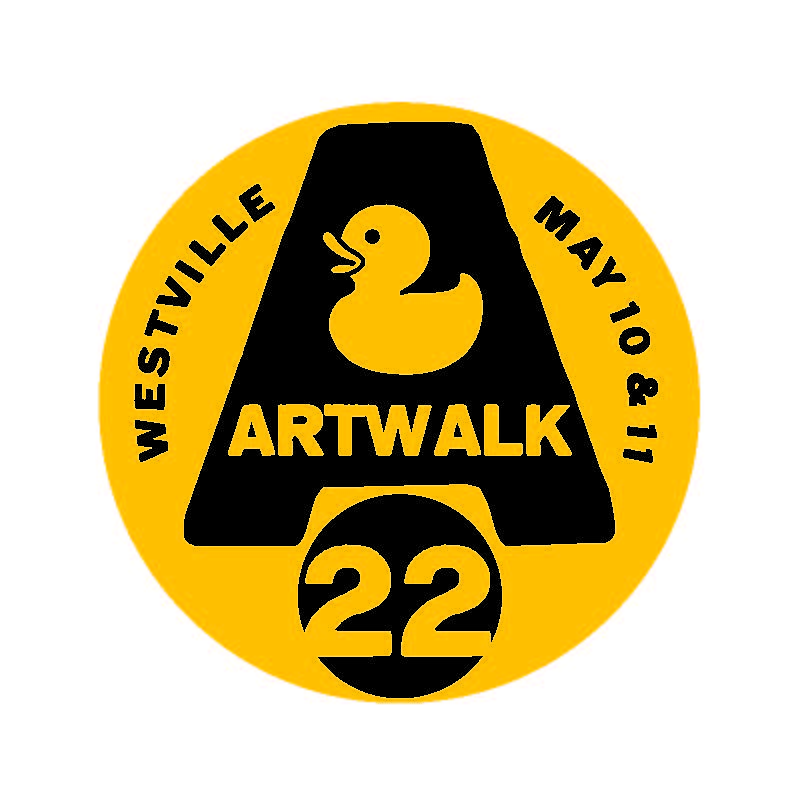 WESTVILLE ARTWALK 22 – MAY 10+11!