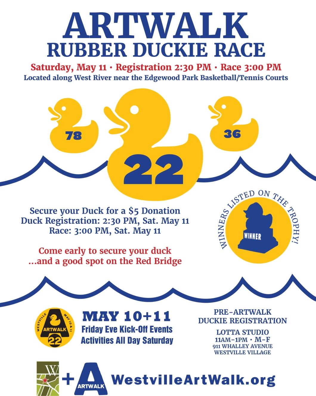 2019 duck race poster FINAL